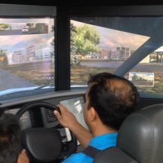 Testing out our safe driving simulator at our live #DriveInStyle event!
