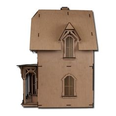 The Laser Cut Chantilly Dollhouse Kit