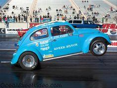 drag racing | VW Drag Racing Wheelie- Photo