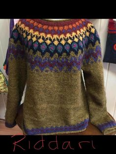 Fair Isle Knitting, Aa Quotes, Knit Crochet, Men Sweater, Crafty, Purple, Sweaters, Color, Google