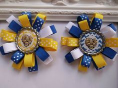 Despicable Me Minions Loopy Hair Bow. Despicable by creationslove, $4.50