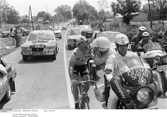 1979, Bernard Hinault wins his 2nd Tour, despite a conjunctivitis in stage 6!