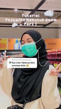 Modern Hijab Fashion, Hijab Fashion Inspiration, Islamic Fashion, Muslim Fashion, Stylish Hijab, Casual Hijab Outfit, Hijab Chic, Simple Hijab Tutorial, Hijab Style Tutorial