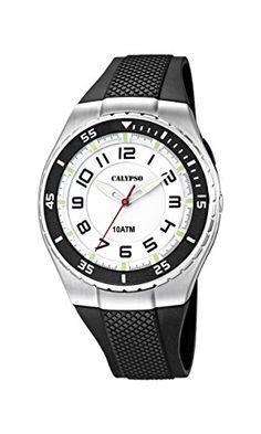 Calypso watches Jungen-Armbanduhr Analog Quarz Plastik K6063/3 - http://kameras-kaufen.de/calypso/calypso-watches-jungen-armbanduhr-analog-quarz-3