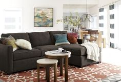 Entu Side Table Crate And Barrel Pinterest Sectional