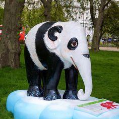'Panda' - Elephant Parade in London, England 2010;  photo by drplokta, via Flickr