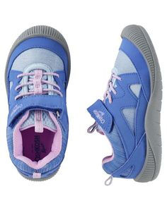 4c2f03df9 OshKosh Bump Toe Athletic Sneakers. Toddler SneakersToddler Girl ShoesBaby  ...