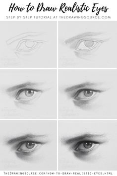 How to Draw Realistic Eyes: A Step by Step Tutorial