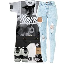 Untitled #1159, created by ayline-somindless4rayray on Polyvore
