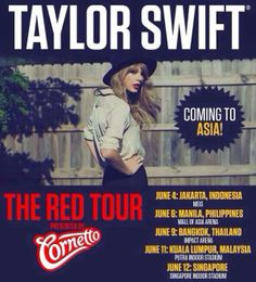 "#Event The Red Tour ""Taylor Swift"" Live in Jakarta"