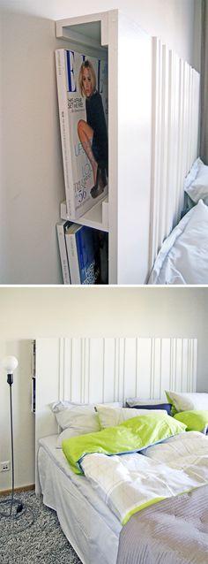 DIY | Tête de lit multifonction