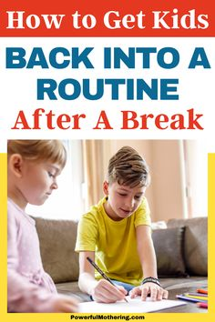 Summer is over and school time is here! Help your little ones back in the grind with this useful parenting advice! Check out the blog for more details on How to Get Kids Back into a Routine after a Break! With vacation finally over, it can be a challenge for your kids to get back into the schedule. It includes integrating proper bedtime schedule, homeschooling tips, chores scheduling and even important eating habits. This free guide has your back! #routinetips #buildinghabits Preschool Games, Free Activities, Homeschool Curriculum, Homeschooling, Chore Schedule, Teaching Tips, Eating Habits, Parenting Advice, Bedtime