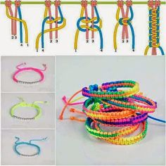 A braided friendship bracelet is a perfect gift to show love to your close friends. In this diy jewelry tutorial, you will learn how to braid a knotted bracelet. Square Knot Bracelets, Diy Bracelets Easy, Bracelet Crafts, Braided Bracelets, Jewelry Crafts, Diy Bracelets Step By Step, Knotted Bracelet, Making Bracelets, Jewelry Making