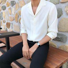 Korean Fashion Men, Korean Street Fashion, Ulzzang Fashion, Mens Fashion, Aesthetic Fashion, Aesthetic Clothes, Moda Retro, Trendy Outfits, Fashion Outfits