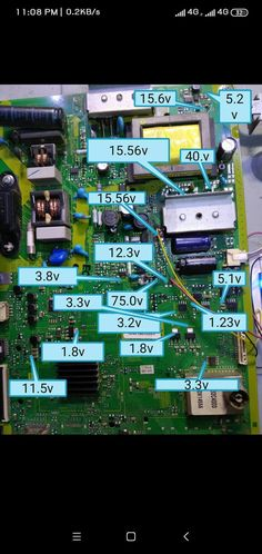 Free Software Download Sites, Panasonic Tvs, Sony Led, Power Supply Circuit, V 15, Electronic Circuit Projects, Lcd Television, Tv Panel, Lg Tvs