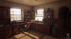 ArtStation - Cozy Kitchen, Breanne Millette