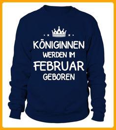 Kniginnen Februar Geboren - Shirts für mutter (*Partner-Link)