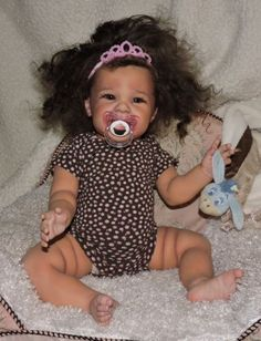 REBORN-BABY-GIRL-MAIZIE-ARCELLO-AA-ETHNIC-HISPANIC-BIRACIAL-DOLL-ART-SOLD-OUT-LE