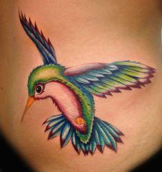 Unique Hummingbird Tattoos | Unique+Hummingbird+Tattoos | Angel Galindo - Club Tattoo