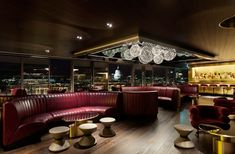 Design Research Studio Tom Dixon Mondrian London Sea Containers House Modern Interior Design, Interior Styling, Sea Container Homes, Sea Containers, Nightclub Design, Luxury Modern Homes, Lobby Interior, Cafe Restaurant, Restaurant Interiors