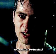 """Teen wolf - """"Some of us are human!"""" that scene broke my heart :((( Dylan O'brien, Teen Wolf Dylan, Teen Wolf Stiles, Teen Wolf Cast, Arte Teen Wolf, Stiles Stilinski Imagines, Sterek, Stydia, Classic Hollywood"""
