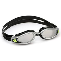 aac6719116 Aqua Sphere Adults  Kaiman Exo Mirrored Lens Swim Goggles Silver Black -  Water Sports