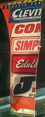 Vintage Ricky Rudd #10 Tide race used sheet metal  Nascar