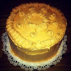 Homemade Caramel Cake