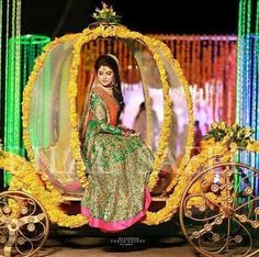 Mehndi dress Mehndi Stage, Mehendi, Bride Entry, Mehndi Dress, Wedding Stage Decorations, Mehndi Brides, Bridal Photoshoot, Desi Wedding, Muslim Couples