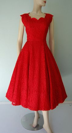 pretty dress. red is my favorite!