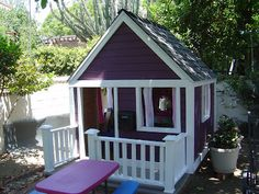 Extreme Makeover:  Playhouse edition! {Part 1}