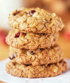 Applesauce Cookies w/ just bananas, oats, applesauce, vanilla, and cherries.