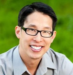 Gene Luen Yang - James A. Houck Visiting Lecturer at the 39th YSU English Festival in 2017.