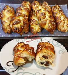 Cookbook Recipes, Cooking Recipes, Greek Easter Bread, Pretzel Bites, Donuts, Sausage, French Toast, Meat, Breakfast