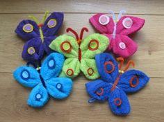 washand vlinder maken