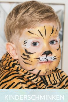 Tiere schminken geht einfach The Effective Pictures We Offer You About Body Suit with shorts A quality picture can tell you many things. Kawaii Disney, Animal Face Paintings, Animal Faces, Mommy Tattoos, Bodysuit Tattoos, Tiger Face Paints, Animal Makeup, Kids Origami, High Fashion Makeup