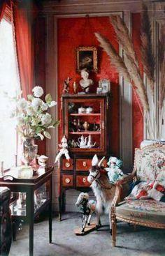 Intérieur d'une maison - 1910