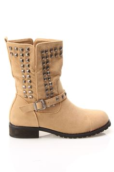 Abigail Studded Ankle Boot