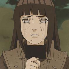 Hinata crying at Neji's Death