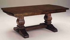 Amazon.com: Eddie Bauer - Lakeridge Trestle Table by Lane Furniture: Kitchen & Dining