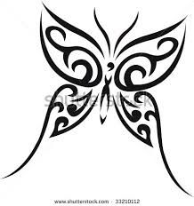 tribal butterfly tattoos - Google Search
