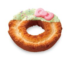 hello kitty donuts by mister donut