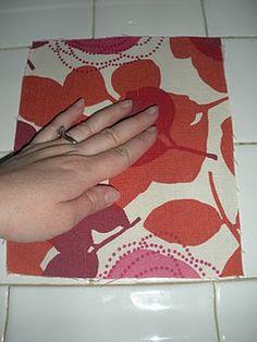 refurbish an old mouse pad