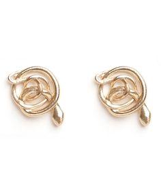 Catbird::shop by category::JEWELRY::Earrings::Twisted Snake Studs