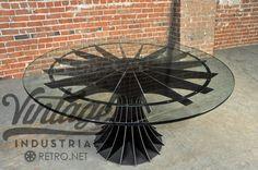 Compresseur industriel Vintage Table par VintageIndustrial sur Etsy