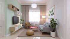 Decoração de Salas Pequenas para aproveitar espaço
