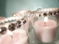 Blinging Glass Votive Holders - WHere do I find the bling to DIY? - | Weddings, Etiquette and Advice, Do It Yourself | Wedding Forums | WeddingWire