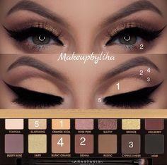 Gorgeous Makeup: Tips and Tricks With Eye Makeup and Eyeshadow – Makeup Design Ideas Kiss Makeup, Glam Makeup, Makeup Inspo, Eyeshadow Makeup, Makeup Inspiration, Beauty Makeup, Eyeshadows, Men Makeup, Devil Makeup