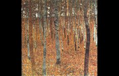 Beech Forest 1 1902 by Gustav Klimt