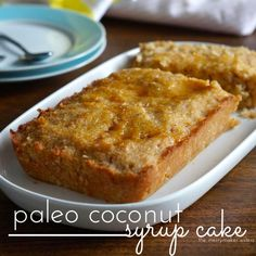You& got to try this Paleo Coconut Syrup Cake recipe! The recipe is based on our Yiayia& traditional Greek recipe! It& seriously all kinds of yum! Almond Recipes, Paleo Recipes, Sweet Recipes, Real Food Recipes, Baking Recipes, Paleo Sweets, Paleo Dessert, Healthy Desserts, Healthy Treats